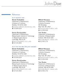 Resume References Format Example by Outstanding Resume References Example 29 For Resume Templates Free