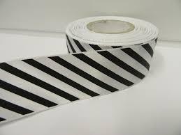 black and white striped ribbon 38mm candy stripe ribbon black and white 2 metres or 20 metre roll