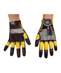transformers halloween costumes transformers bumblebee boys gloves costume accessory boys