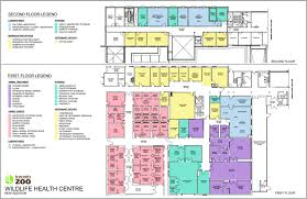 Health Center Floor Plan by Toronto Zoo New Wildlife Health Centre