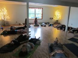 Home Yoga Room by Nanaquaket Yoga Studio Home