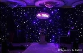 wedding backdrop blue 2016 new fashion blue white colors led curtain wedding