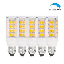 omailighting dimmable jd e11 base led light bulb miniature