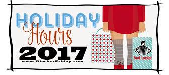 footlocker black friday 2017 sale store hours cyber week 2017