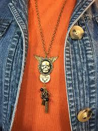 annette u0027s creative journey diy halloween jewelry using tim holtz