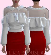 blouse tumbler sims 4 blouse