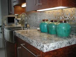 Beadboard Backsplash In Kitchen Granite Countertop Kitchen Cabinets White And Brown Stained