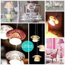Tea Cup Chandelier Diy Inspo Tea Cup Lights