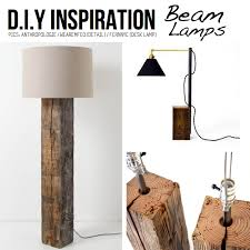 Woodworking Plans Desk Lamp by Diy Ideas U0026 Tutorials For Salvaged Wooden Beams