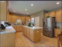what color goes best with maple cabinets choosing right granite countertop color for light maple