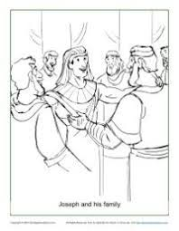lots coloring book pages story joseph coloring