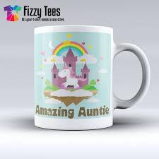 Amazing Mugs by Amazing Unicorn Auntie Mug Family Mugs