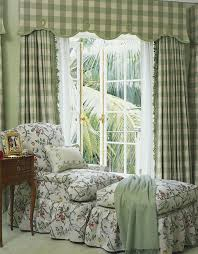 Green And White Gingham Curtains by Barefoot Elegance In A Palm Beach Mediterranean Masterpiece Palm