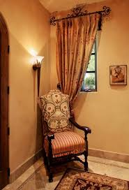 Tuscan Style Curtains Ideas Tuscan Chair And Window Tuscan Pinterest Window Upholstery