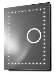 illuminated mirrors eclipse shaver 3x magnification led bathroom