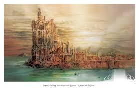 king u0027s landing game of thrones watercolor art of tony moy
