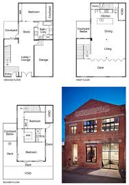 Courtyard Style House Plans by New York Style Warehouse Conversion In Melbourne Open Living