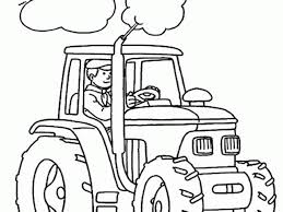 download tractor colouring page ziho coloring