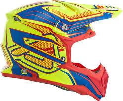 yellow motocross helmet acerbis impact 3 0 motocross helmet helmets offroad yellow blue