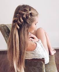 Einfache Frisuren Selber Machen Offene Haare by Die Besten 25 Flechtfrisuren Anleitung Ideen Auf