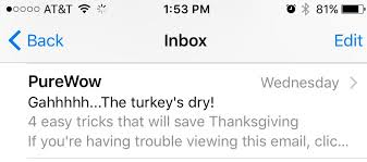 7 tips to send your best thanksgiving email email design