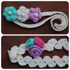 crochet hair bands 87 best crochet hair band images on hair accessories