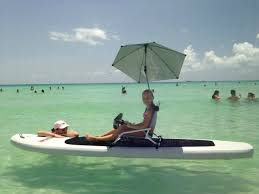 Low Beach Chair Mounting Regular Beach Chair On Inflatable Sup