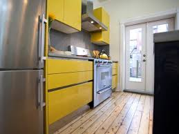 yellow kitchen wood cabinets yellow kitchen cabinets pictures ideas tips from hgtv hgtv