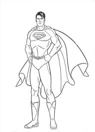 printable superman coloring pages to print 7995