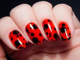 ladybird inspired nail art chalkboard nails nail art blog little