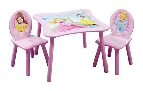amazon com delta children table u0026 chair set disney princess baby