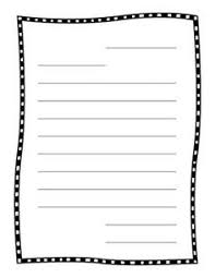 letter writing paper best ideas of friendly letter writing paper printable with