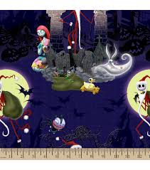 inspirations fabric nightmare before