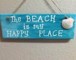 beachy signs wall decor etsy