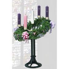 advent wreath candles advent wreath floor standing 3925 churchsupplies