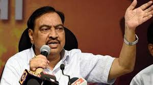 Maharashtra Cabinet Ministers Eknath Khadse Attends Bjp U0027s State Level Executive Meet In Pune