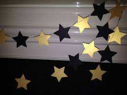 black and gold party decorations black and gold paper garland new years party