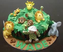 jungle theme cake jungle animal cake jungle theme cake with tiger lion