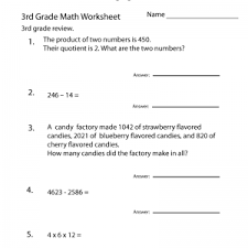 free 3rd grade math worksheets multiplication 6 7 8 9 times tables