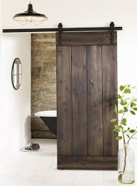 doors beautiful wooden sliding doors for bathroom 20 awesome
