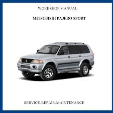 28 2002 mitsubishi montero sport repair manual 58606 2004