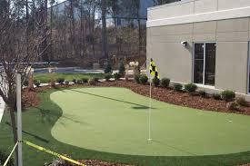 backyard miniature golf course design home outdoor decoration