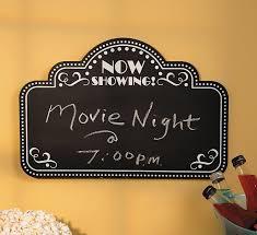 movie home decor movie night chalkboard home decor walmart com