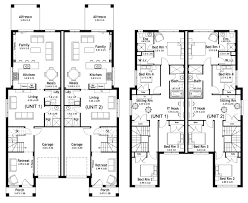 richmond 49 9 duplex level floorplan by kurmond homes new