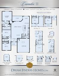grand floor plans camden ii dream finders homes