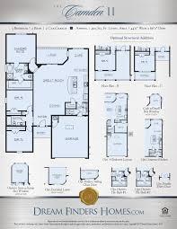 grand floor plans camden ii dream finders homes
