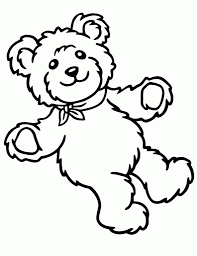 teddy bear coloring page regarding your own home cool coloring