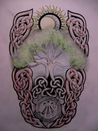 collection of 25 celtic tree of for
