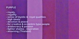shades of color purple purple aura kea0