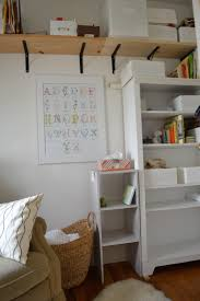 Changing Table Shelves by The Tiny Nursery Tending The Garden